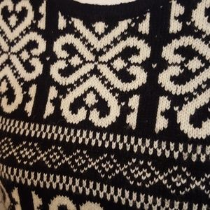 J. Jill Sweaters - J. Jill Black and White Sweater